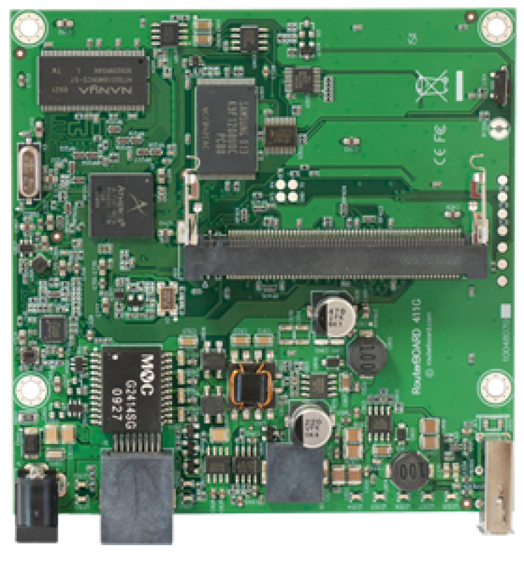 Мат.плата Mikrotik RouterBOARD 411GL