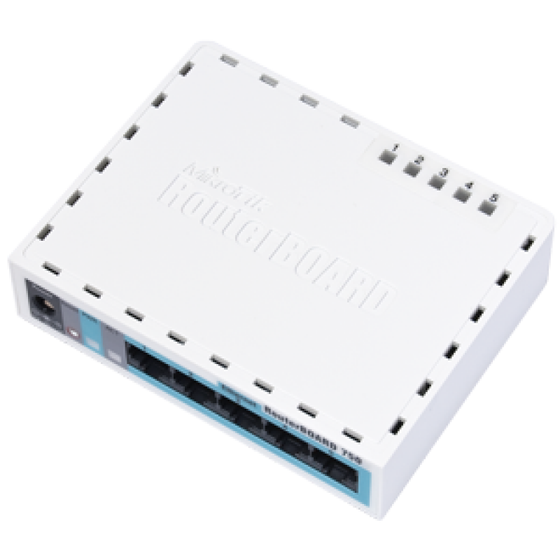 Сетевой маршрутизатор Mikrotik RouterBOARD hEX Lite RB750r2
