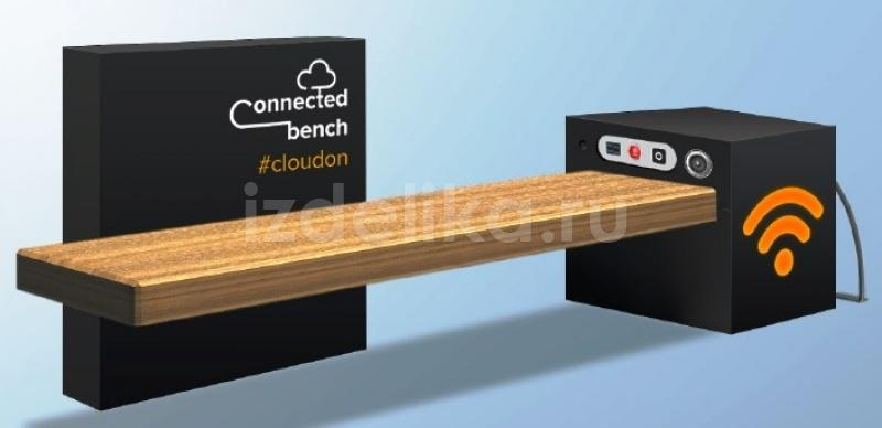 "Скамья ""Connected Bench"""