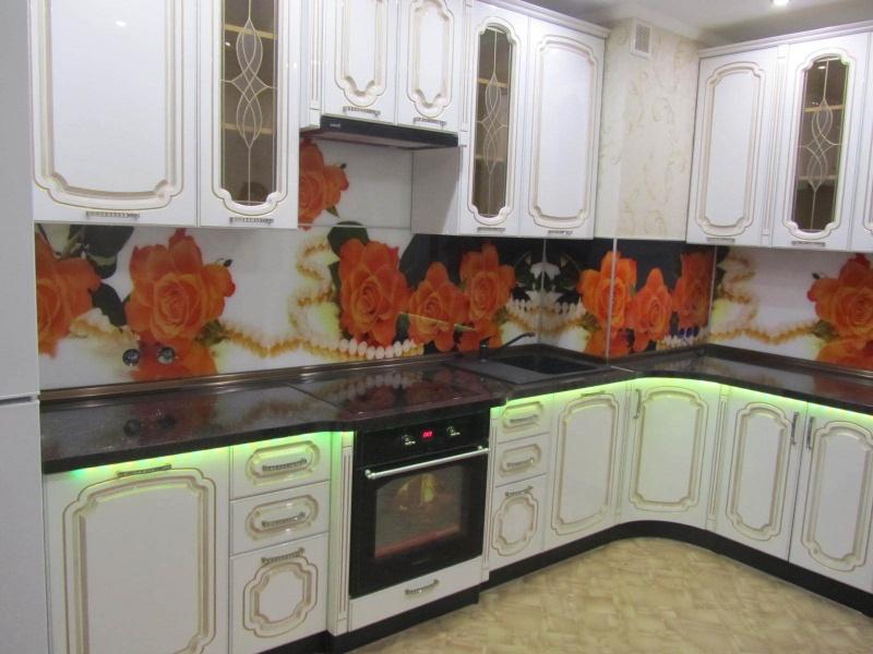 Кухня с патиной  6