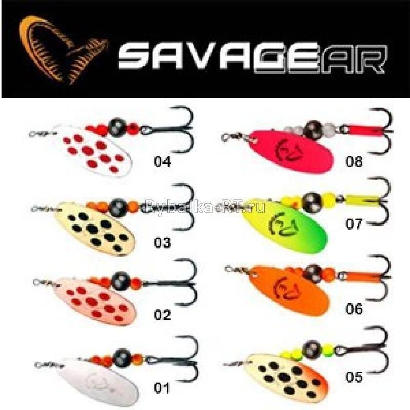 savage gear rotex блесна
